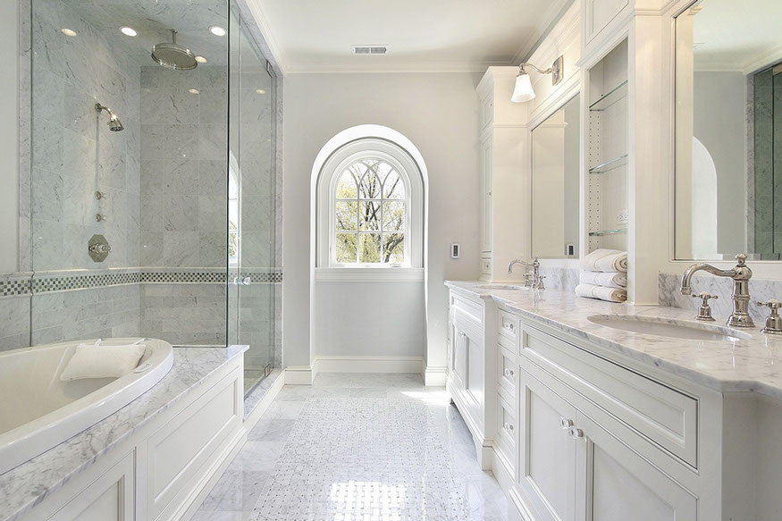 WHITE CARRERA MASTER BATH
