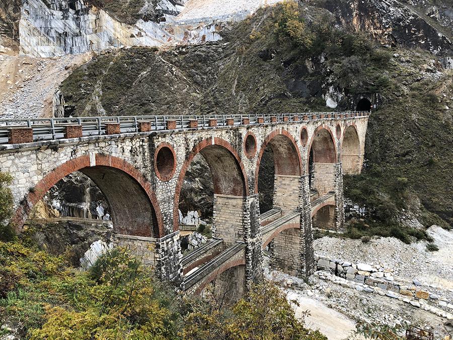 amazing bridge to get to the quarry