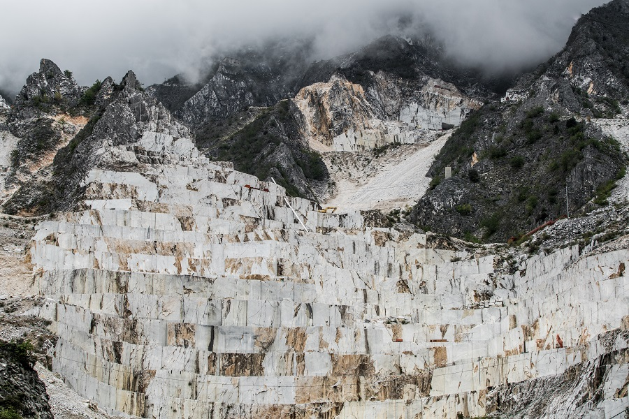 the wonders of the quary in Italy